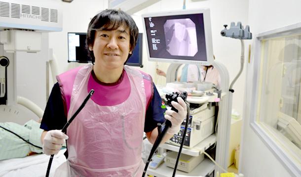 胆石を内視鏡的に取り出す治療