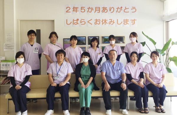 四日市肝臓内科・眼科の最終日